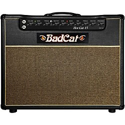 Bad Cat Hot Cat 15w 1x12 Guitar Combo Amp (HC 15  112)