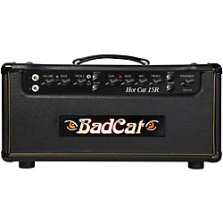 Bad Cat Hot Cat 15w Guitar Amp Head with Reverb (USED004000 HC 15R HD)