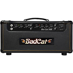 Bad Cat Hot Cat 50w Guitar Amp Head with Reverb (HC 50 R HD)