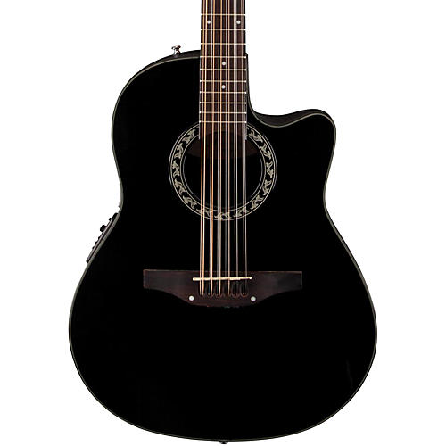 Applause Balladeer 12-String Mid Depth Bowl Acoustic-Electric Guitar-thumbnail