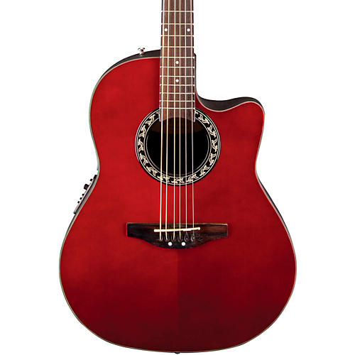 Applause Balladeer Mid Depth Bowl Acoustic-Electric Guitar-thumbnail