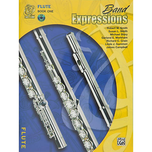 Alfred Band Expressions Book One Student Edition Flute Book & CD-thumbnail