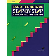 KJOS Band Technique Step-By-Step Clarinet