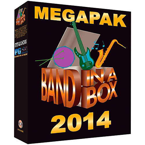 PG Music Band-in-a-Box 2014 MEGAPAK (Windows DVD-ROM)-thumbnail