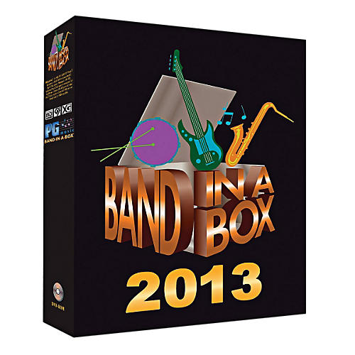PG Music Band-in-a-Box Pro 2013 (Windows DVD-ROM)-thumbnail