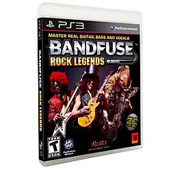 BandFuse Rock Legends Artist Pack for PS3 (000-81)