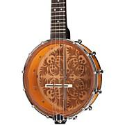 """Luna Guitars Banjolele 8"""" Ukulele"""