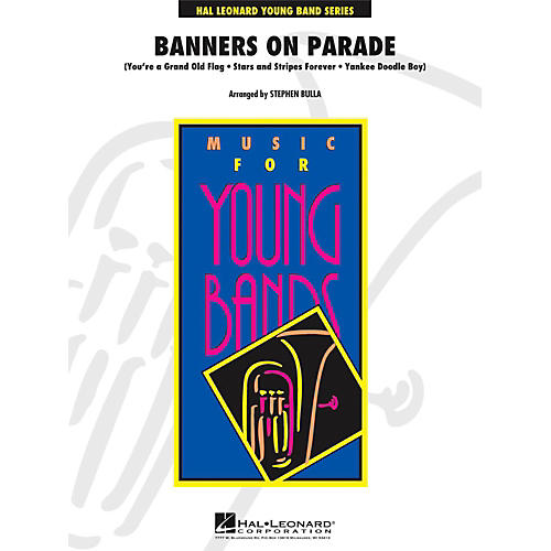 Hal Leonard Banners On Parade - Young Concert Band Level 3-thumbnail