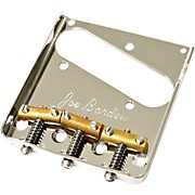 Joe Barden Pickups (Barden) Vintage Tele Bridgeplate and Saddle Kit