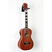 Lanikai Baritone All-Mahogany Acoustic-Electric Ukulele with USB