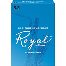 Rico Royal Baritone Saxophone Reeds, Box of 10