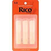 Rico Baritone Saxophone Reeds, Box of 3