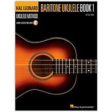 Hal Leonard Baritone Ukulele Method Book 1 (Book/Online Audio)