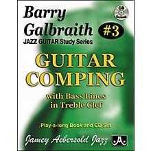 Jamey Aebersold Barry Galbraith Guitar Comping Book/CD