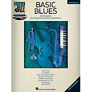 Hal Leonard Basic Blues - Easy Jazz Play-Along Vol. 4 Book/CD