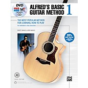 Alfred Basic Guitar Method 1 3rd Edition Book, DVD & Online Audio, Video & Software