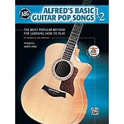 Alfred Basic Guitar Pop Songs 1 and 2 (Book/CD)