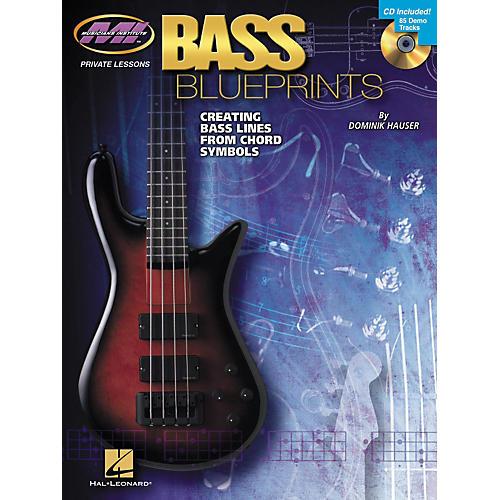 Hal Leonard Bass Blueprints - Creating Bass Lines from Chord Symbols (Book/CD)-thumbnail