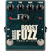 Tech 21 Bass Boost Fuzz Effects Pedal