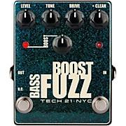 Tech 21 Bass Boost Fuzz Metallic Effects Pedal