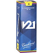 Vandoren Bass Clarinet V21 Reeds Box of 10