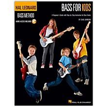 Hal Leonard Bass For Kids - Bass Method (Book/Online Audio)