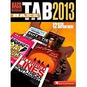 Hal Leonard Bass Tab 2013