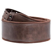 Right On Bassman Smooth Brown Guitar Strap