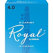 Rico Royal Bb Clarinet Reeds, Box of 10
