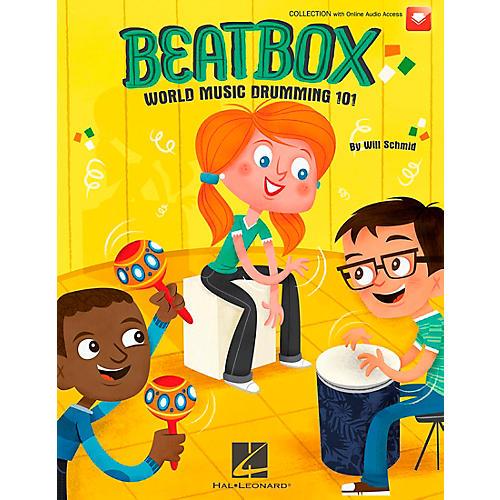 Hal Leonard BeatBox: World Music Drumming 101 (Book/CD)-thumbnail