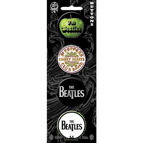 C&D Visionary Beatles Button set (4 piece)-thumbnail