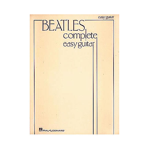 Hal Leonard Beatles Complete Easy Guitar Songbook-thumbnail