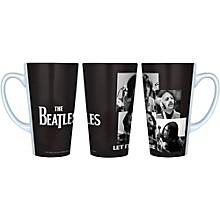 Boelter Brands Beatles Let It Be - Black and White Latte Mug