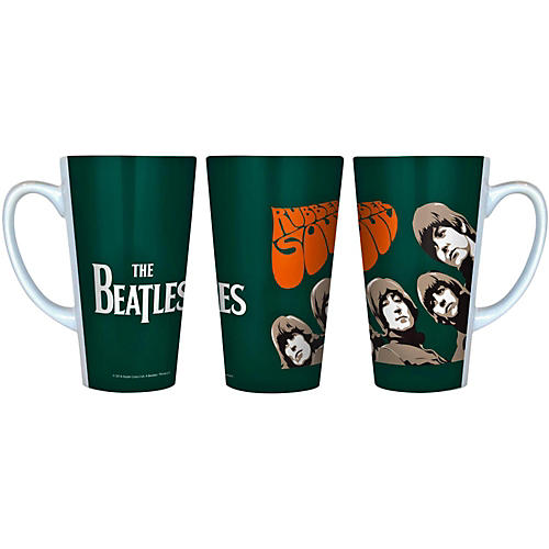 Boelter Brands Beatles Rubber Soul - Latte Mug-thumbnail