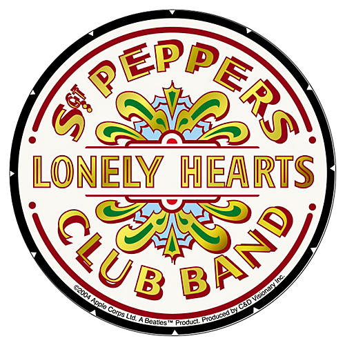 C&D Visionary Beatles Sgt. Peppers Sticker