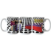 Boelter Brands Beatles Yellow Submarine Holes Scuplted Mug