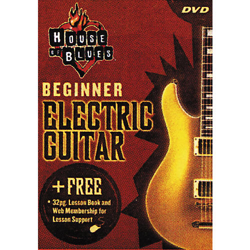Hal Leonard Beginner Electric Guitar (DVD)