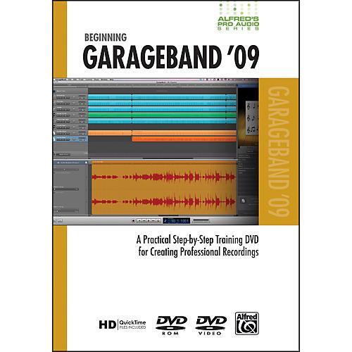 Alfred Beginning GarageBand '09 (DVD)-thumbnail