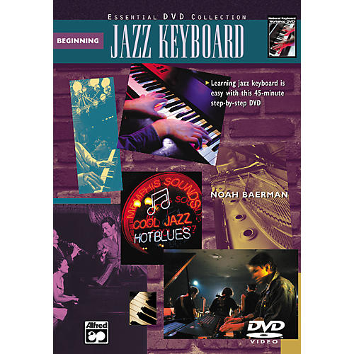 Alfred Beginning Jazz Keyboard (Book/DVD)