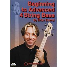 Centerstream Publishing Beginning to Advanced 4-String Bass (DVD)