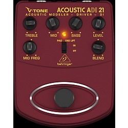Behringer ADI21 V-Tone Acoustic Driver Direct Recording Preamp/DI Box (ADI21)