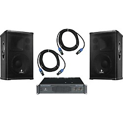Behringer B1220 / EP4000 Speaker & Amp Package (KIT - 584971)