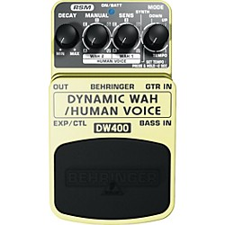 Behringer DW400 Dynamic Wah/Human Voice Effects Pedal (DW400)