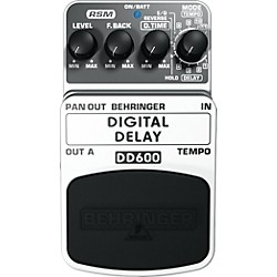Behringer Digital Delay DD600 Guitar Effects Pedal (DD600)