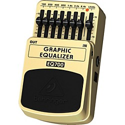 Behringer EQ700 Graphic Equalizer 7-Band EQ Pedal (EQ700)