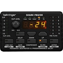 Behringer FBQ100 Shark Automatic Feedback Destroyer (USED004000 FBQ100)