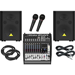 Behringer PMP1000 / VP1220 PA Package (KIT889534)