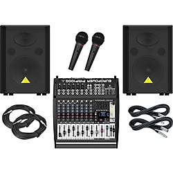 Behringer PMP1000 / VS1220 PA Package (KIT889533)