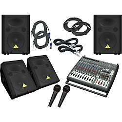Behringer PMP4000 / VP1220 / VP1220F PA Package (PMP4000VP1220)