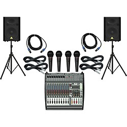 Behringer PMP4000 / VP1520 PA Package (PMP4000VP1520)
